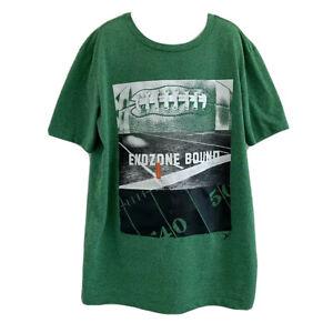 Old Navy Active Go-Dry Boys Sz XL 14-16 Green Football Short Sleeve Shirt