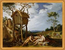 Parable of the wheat and the Tares Abraham Bloemaert Baumhaus Gesù B a2 00183