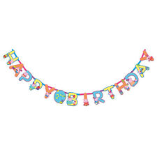 Peppa Pig Jumbo Add-an-Age Letter Banners 3.2m 121499