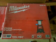2150-20 Milwaukee M18 Led Site Light & Charger with One Key Technology