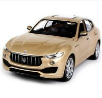 Bburago 1:24 Maserati Levante Diecast Model Sports Racing Car Toy Golden NIB
