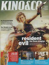 Kino & Co. 15.Jhg Ausgabe 186 Januar 2017 - Resident Evil, Timm Thaler, Jackie