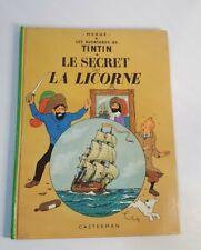 904205 ) tintin le secret de la licorne 1966 /1 00004000 947 casterman Hergé