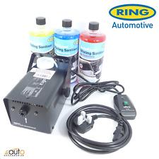 More details for ring auto fleet car van garage interior cabin sanitizing machine mist kit