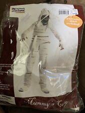 4 Pc California Costume CHILD  Mummy's Curse Large 10-12 Mask Included