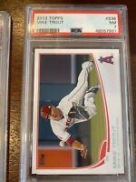 2013 Topps 536 Mike Trout [PSA 7]