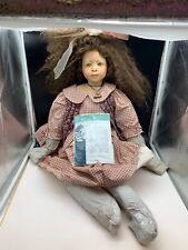 Heidi Plusczok Künstlerpuppe Porzellan Puppe 75 cm. Top Zustand