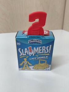 Imaginext DC Super Friends Slammers Laff Mobile & Mystery Figure Set, Brand New!