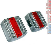 Anhänger LED Rückleuchten Set 12V Rücklicht Anhängerleuchte links & rechts