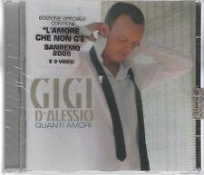 GIGI D'ALESSIO QUANTI AMORI CD SIGILLATO!!!