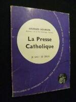 Je sais -je crois, la presse catholique [Cartonn_] by Hourdin Georges