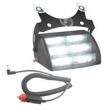 HQRP 18 LED Luz estroboscópica de color blanco / luces de tablero de emergencia