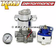 "Hi Performance Inline 140GPH Universal Electric Fuel Pump /& 3//8/"" to AN6 Fittings"