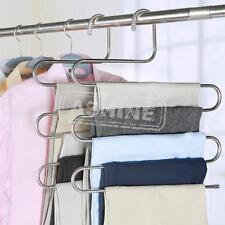 Pantalones Colgando Ropa Percha Layers Ropa depósito Espacio Ahorrado Ordenado