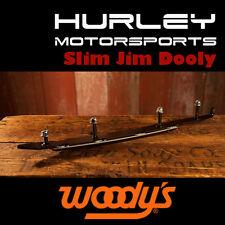 """WOODY'S Slim Jim Dooly 6"""" Carbide Runners - ARCTIC CAT - SA6-9975 - 2 Pack"""