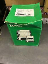 Genuine Lucas 12v/24v LBB260K Magnetic Rotating Amber Beacon with Bulbs