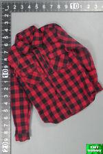 1:6 Scale DAM 78063 DEA SRT Agent EL PASO - Red / Black Plaid Flannel Shirt