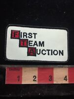 Advertising Patch FTA FIRST TEAM AUCTION Business / Brand 79V