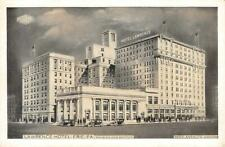 LAWRENCE HOTEL Erie, PA Manager Reed Anshutz c1920s Vintage Postcard