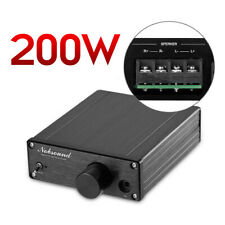 Nobsound Mini 200W Digital Power Amplifier HiFi Class D Home Stereo Audio Amp