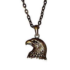 Águila Collar colgante de Collar Hombre Mujeres Collar Moda Joya 46 cm