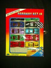 Die Cast Metal Roadway Set 10 Cars No.R9610