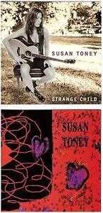 SUSAN TONEY s/t + Strange Child 2-CD lot – Country/Rock/Pop