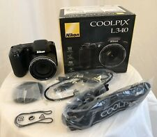 Nikon COOLPIX L340 20.2 MP Digital Camera - Black