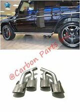 W463 AMG Style Exhaust Pipe Tips Mercedes G-Class G500 G550 G63 G65 Set 2 pcs.