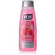 VO5 Herbal Shampoo, Sun Kissed Raspberry with Chamomile Extract 12.50 oz 4pk