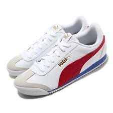 Puma Turino White Red Blue Gold Men Women Unisex Casual Shoes Sneakers 371113-09