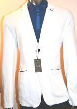 Armani Exchange A|X Men's Knitted Slim Blazer/Jacket - J6M340BZ