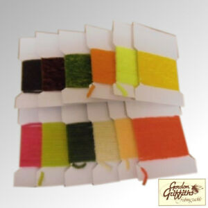 Gordon Griffiths Suede Chenille Pack of 12 Cards Mixed Colours (SC)