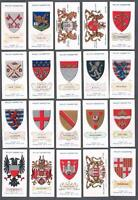1912 Wills's Cigarettes Arms of Foreign Cities Tobacco Cards Complete Set of 50