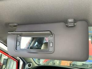 2012-2015 HONDA CIVIC Left Driver Sun Visor Shade w/ Mirror,  GRAY