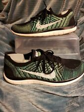 Mens Nike Free Flyknit 4.0 Running Sneakers Size 12