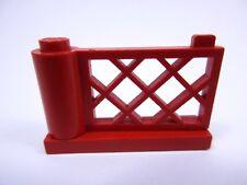 LEGO Train Red Classic Fence Gate Réf 3186 3187 Set 726 080 170 396 361 353 1484