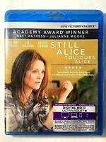 Still Alice – Bilingual New Sealed Blu-Ray Movie: Julianne Moore, Alec Baldwin