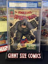 Amazing Spiderman 41 CGC 4.0 First Appearance Of The Rhino 🔥🔥🔑🔑