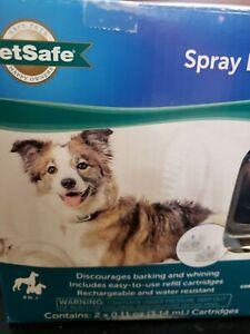 PET SAFE SPRAY BARK COLLAR DISCOURAGES BARKING CITRONELLA & UNSCRENTED 8LBS+