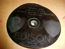 EDISON 10 In. RECORD  JAUDAS SOCIETY ORCHESTRA  MIGHTY LAK' A ROSE WALTZ GOOD