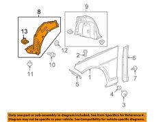 Mercedes MERCEDES-BENZ OEM E350-Front Fender Liner Splash Shield Left 2126904330