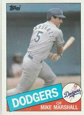 FREE SHIPPING-MINT-1985 (DODGERS) Topps #85 Mike Marshall