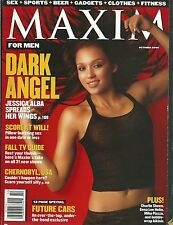 Jessica Alba October 2000 Maxim Magazine No Label Dark Angel Sin City Machete