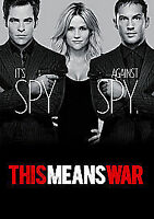This Means War (DVD), Very Good DVD, Tom Hardy, Chris Pine, Reese Witherspoon, A