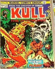 KULL THE DESTROYER 13 VF CONQUERER CONAN 1ST MARVEL PLOOG