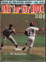1969  Sporting News  One for the Book  Baseball  magazine  Lou Brock  Cardinals