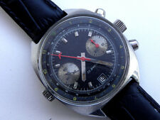 SHTURMANSKIE POLJOT CHRONOGRAPH BLACK FOR MILITARY PILOT SOVIET WATCH ST.STEEL