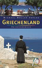 GRIECHENLAND Gesamt Michael Müller Reiseführer 07 Komplett Kreta Chalkidiki B