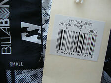 BILLABONG Jackie Paper GREY Giacca Uomo Jacket Giacca invernale tg S nuovo con etichetta